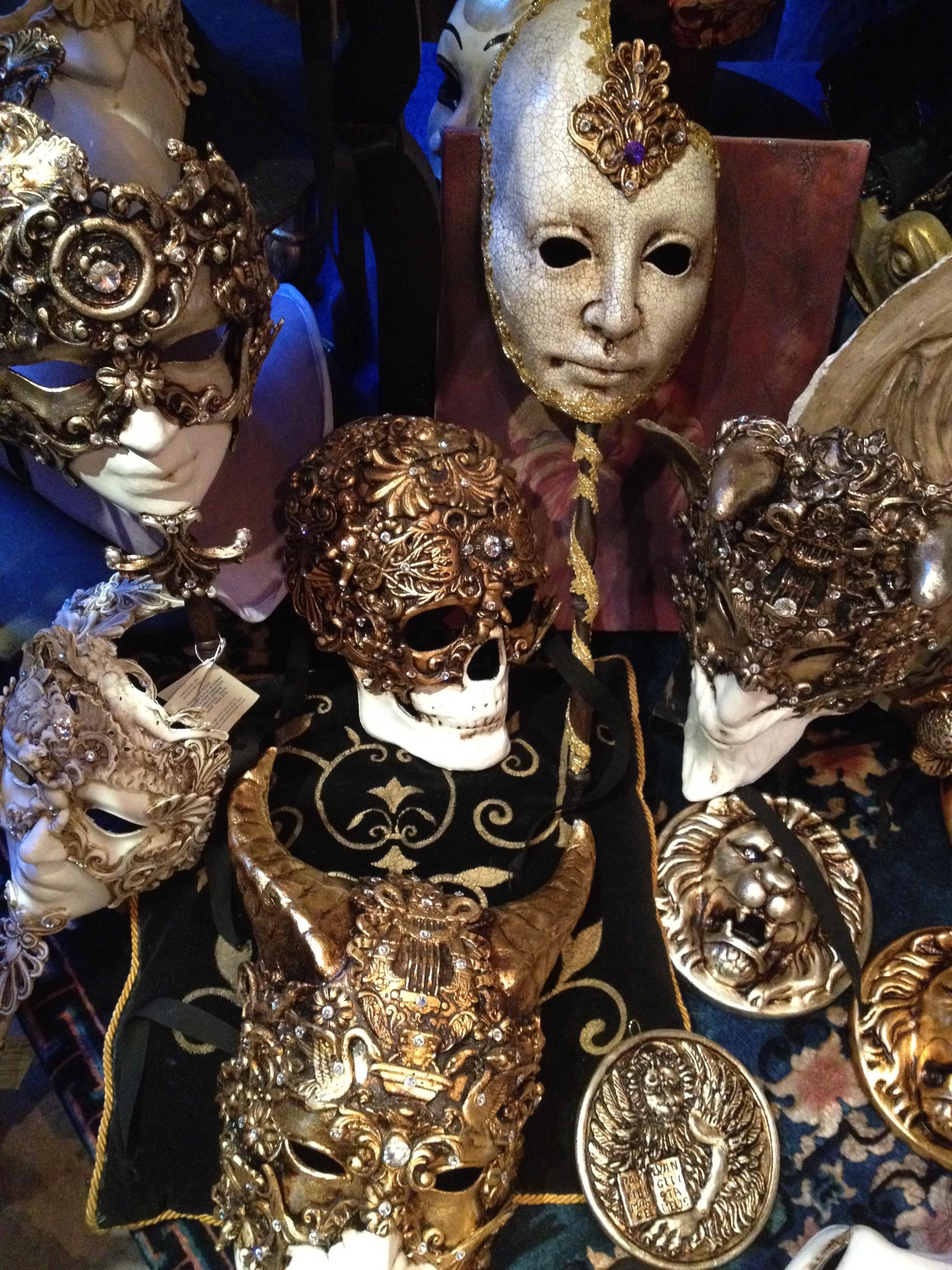 Venice_Masks_Skull (DeenaDanielle)