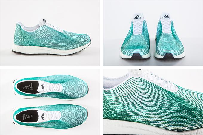 Adidas x Parley: del mar a zapato Nomad moda
