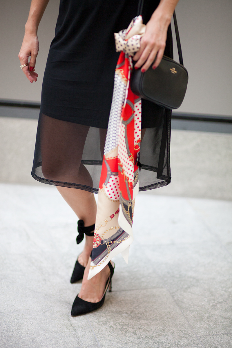 4 Ways to Wear a Scarf featured by popular Los Angeles fashion blogger, Nomad Moda