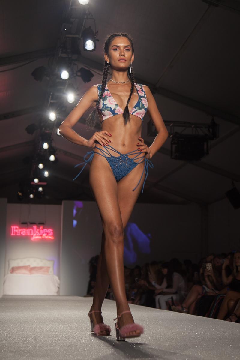 Miami Swim Week - Frankie's Bikinis featured by popular Los Angeles fashion blogger, Nomad Moda