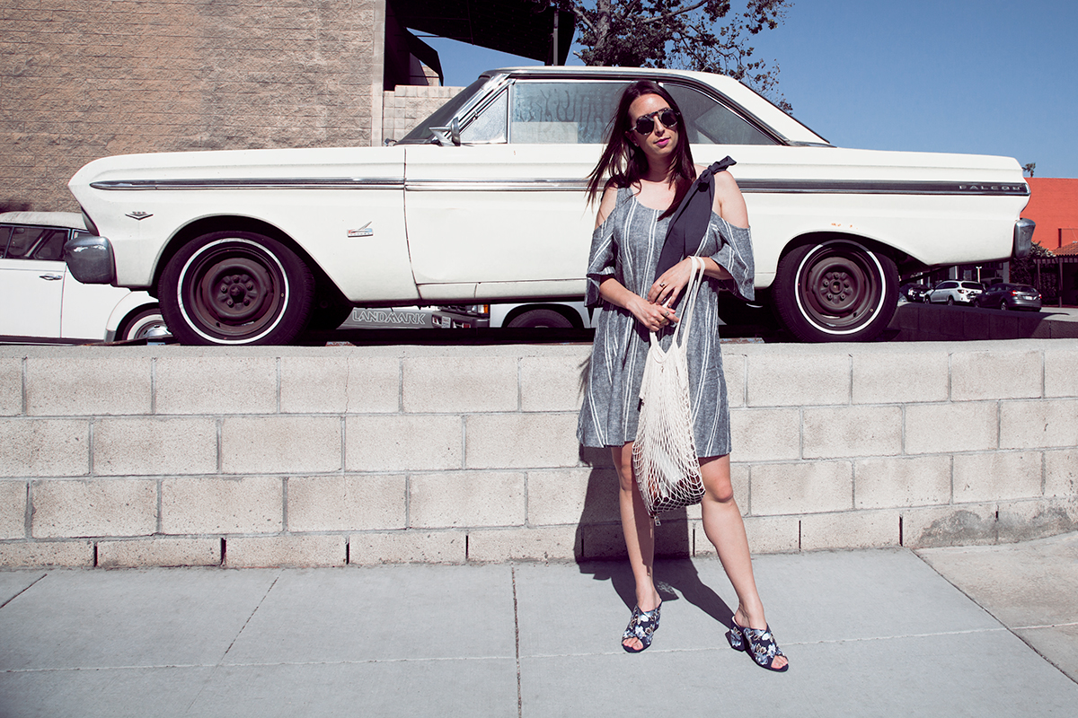 Nordstrom rack 4th of July dress featured by popular Los Angeles fashion blogger, Nomad Moda