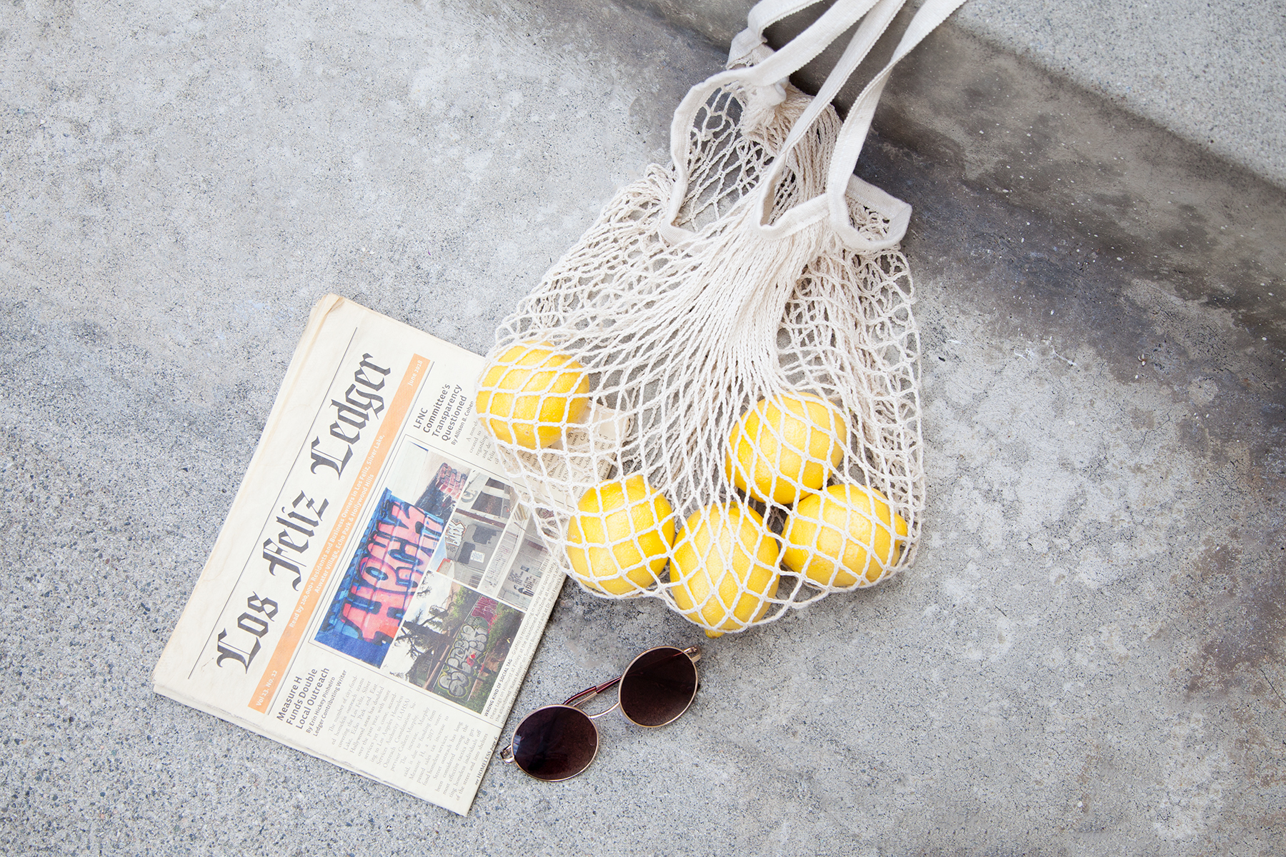 Brooklyn River market bag featured by popular Los Angeles style blogger, Nomad Moda